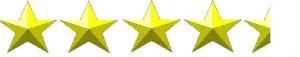 4.5 כוכבים
